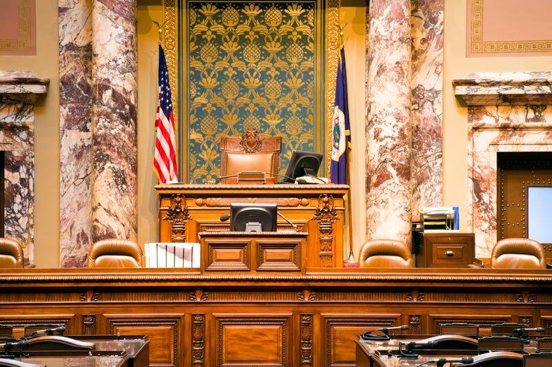 Senate of Minnesota in State Capitol