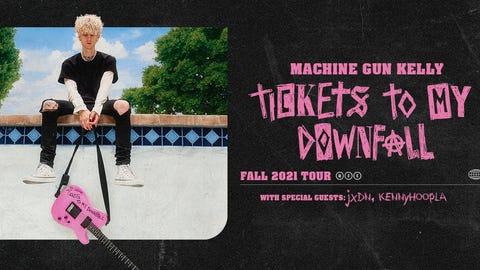 Machine Gun Kelly - Tickets to My Downfall Tour