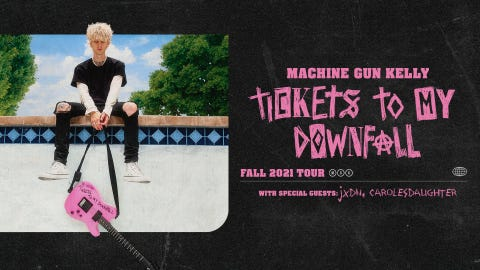 Machine Gun Kelly at McMenamins Edgefield