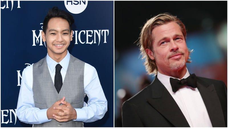 Maddox Jolie-Pitt, Brad Pitt