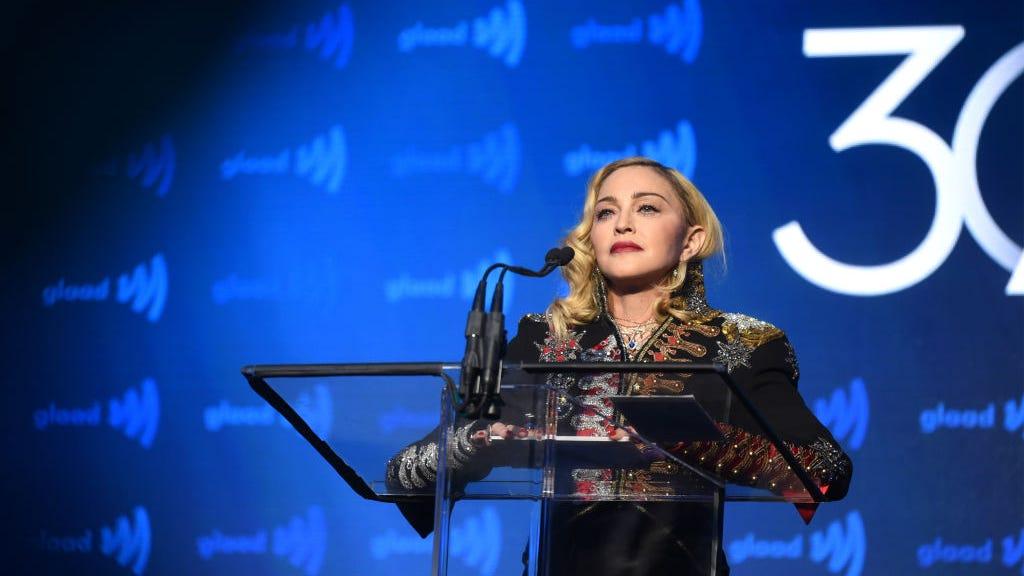 Madonna Gives Heartfelt Speech at GLAAD Awards