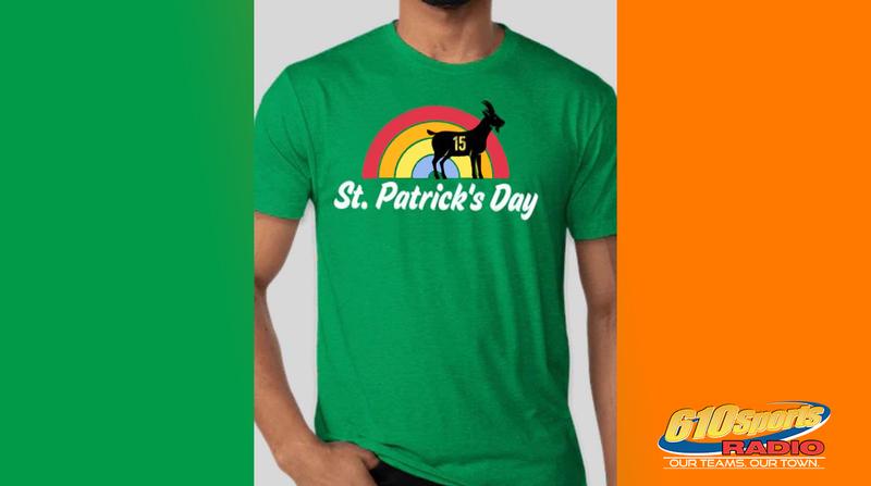 St. Patrick Mahomes Day t-shirt
