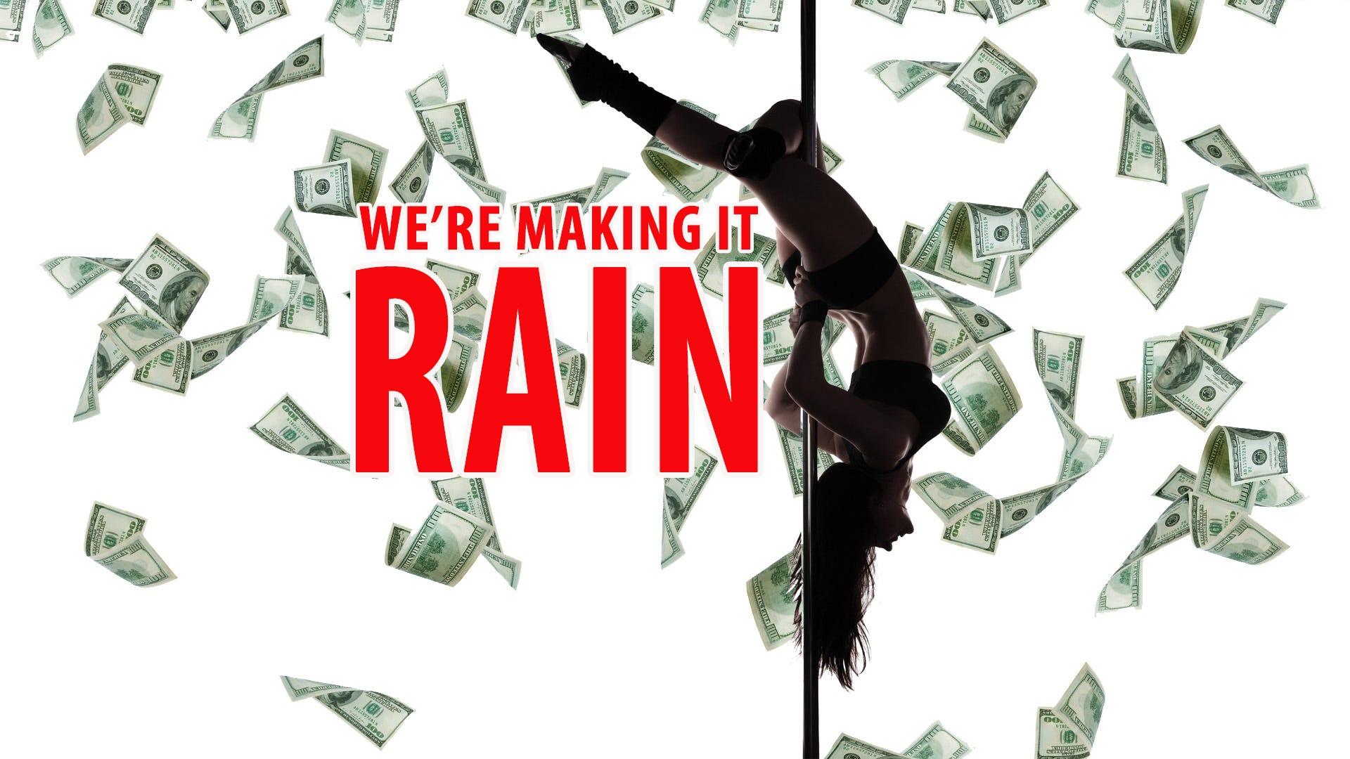 Makin' it Rain on Bayou 95.7
