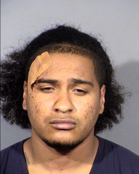 Mug shot of murder suspect Malik Frost
