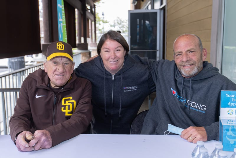 Home of Guiding Hands CEO Mark Klaus with Padre HOF pitcher Randy Jones and HGH client Taylor.