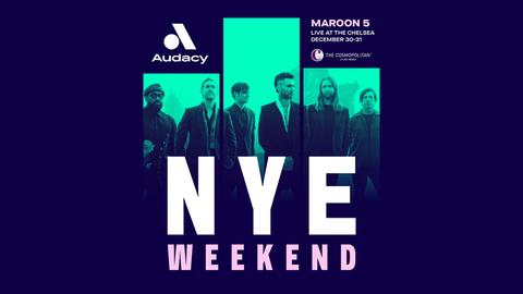 Maroon 5 New Years Eve Weekend!