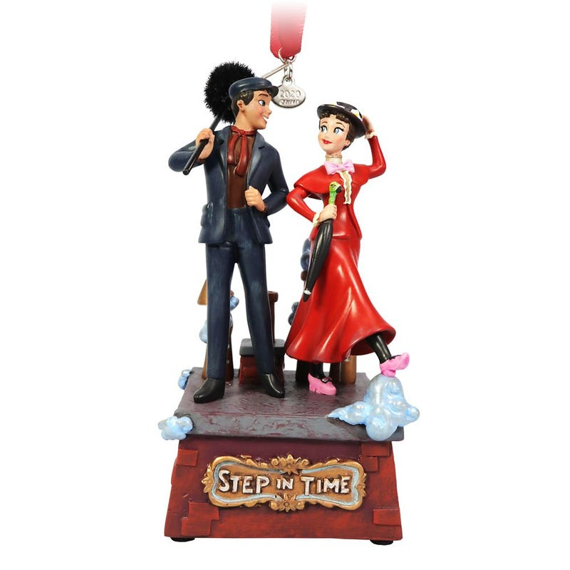 Mary Poppins and Bert Singing Living Magic Sketchbook Ornament Disney 2020