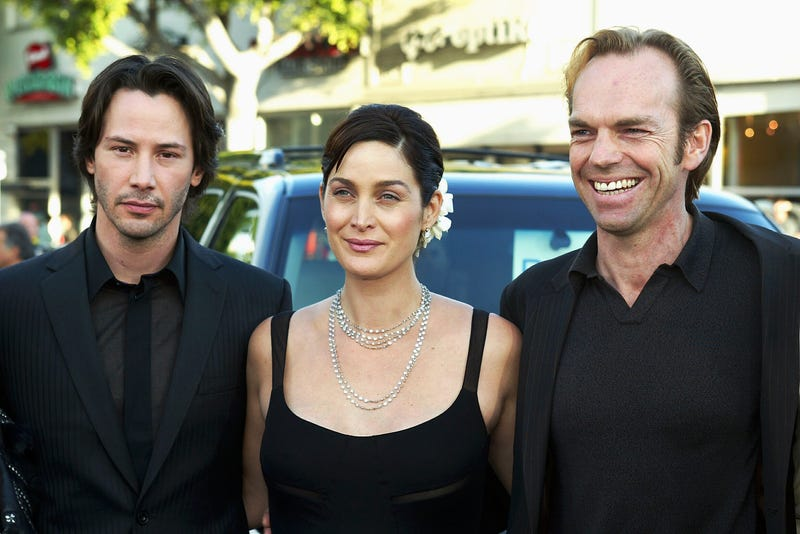"""Cast at the premiere of """"The Matrix Reloaded"""""""
