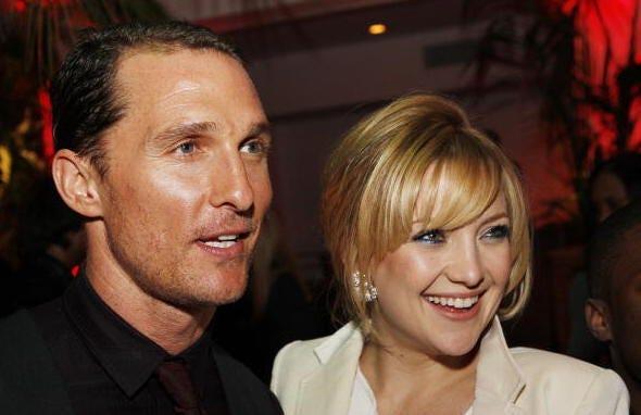 Matthew McConaghey and Kate Hudson