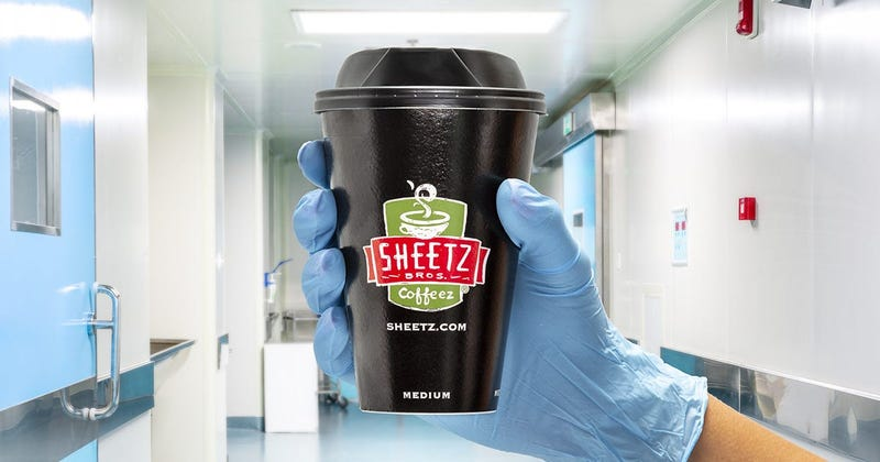 Sheetz Coffee For First Responders, Health Care Workers