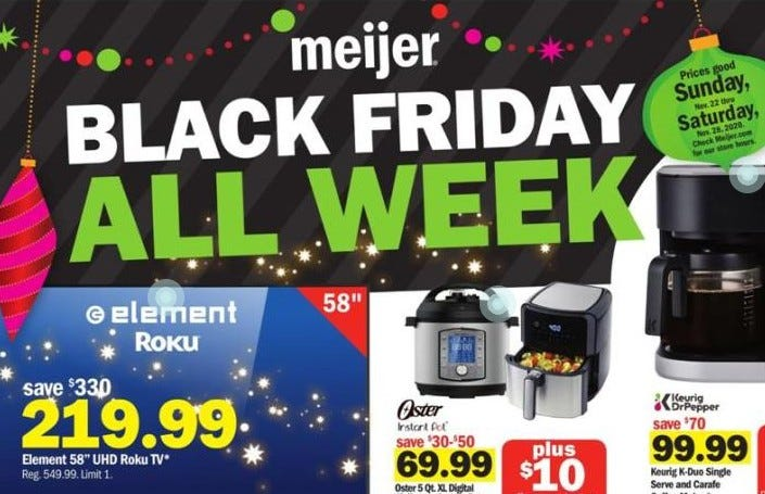Meijer 2020 Black Friday Deals On Tvs Nintendo Switch More