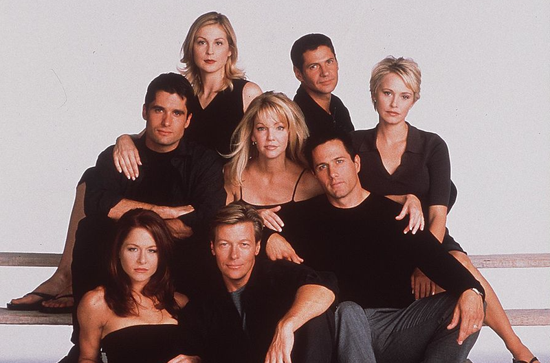 "The Cast of ""Melrose Place"""