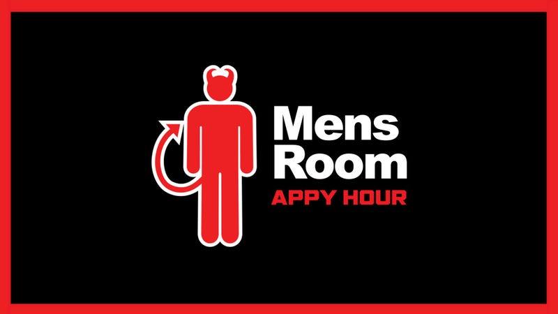 Mens Room Appy Hour