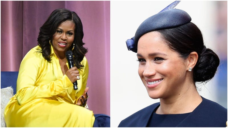 Michelle Obama, Meghan Markle