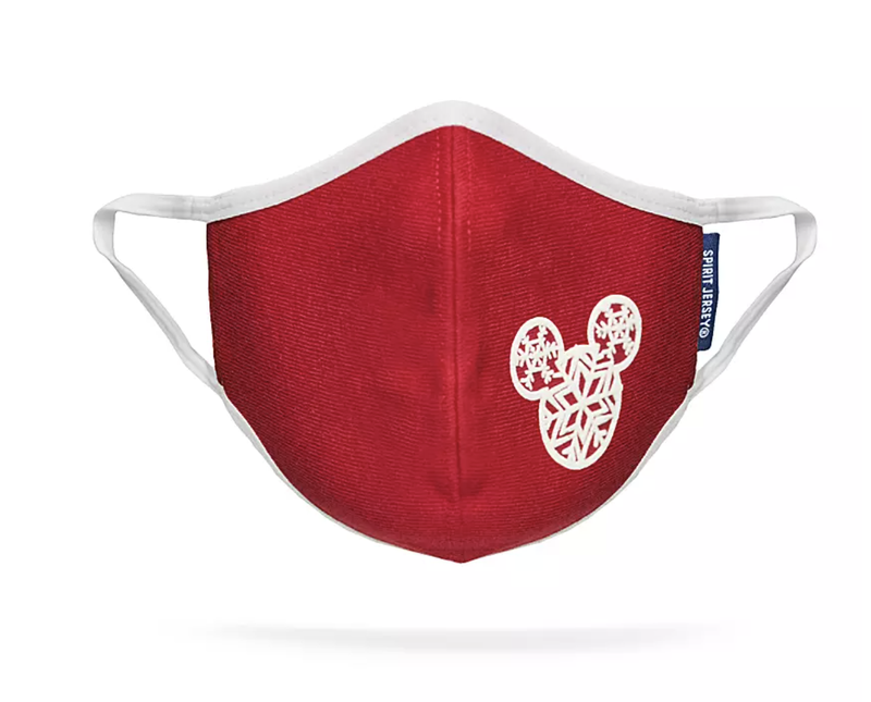 Mickey Mouse Icon Snowflake Face Mask