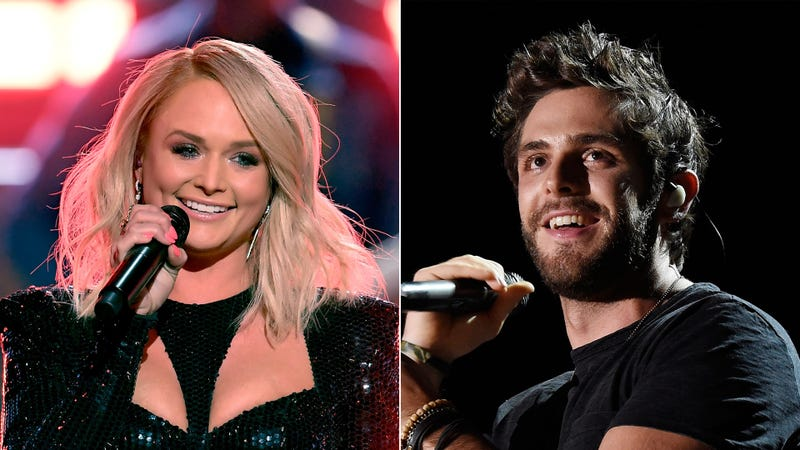 Miranda Lambert and Thomas Rhett
