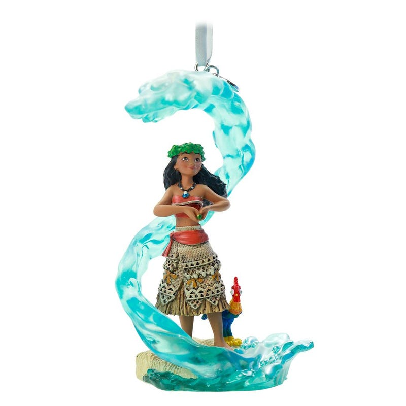 Moana Fairytale Moments Sketchbook Ornament Disney 2020