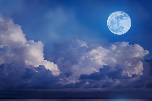 'Blue Flower Moon' Will Appear This Weekend