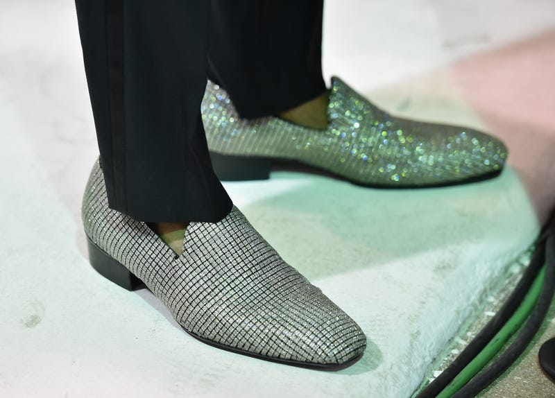 Tom Ford by Jason Arasheben shoes worn by Nick Cannon