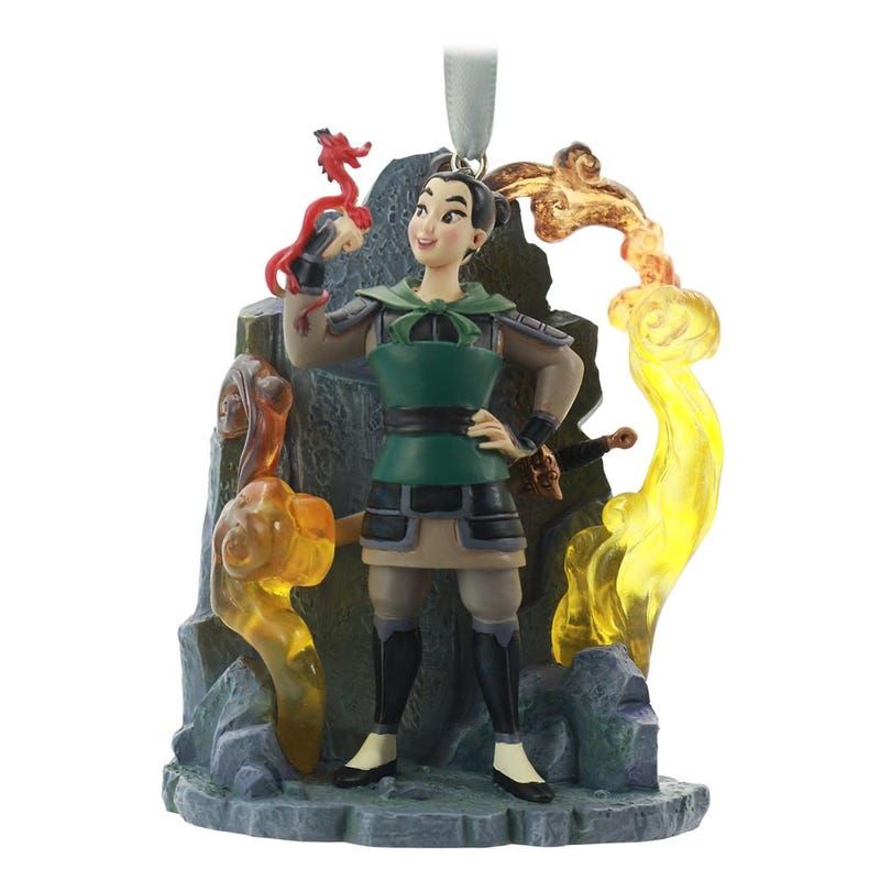 Mulan Fairytale Moments Sketchbook Ornament Disney 2020