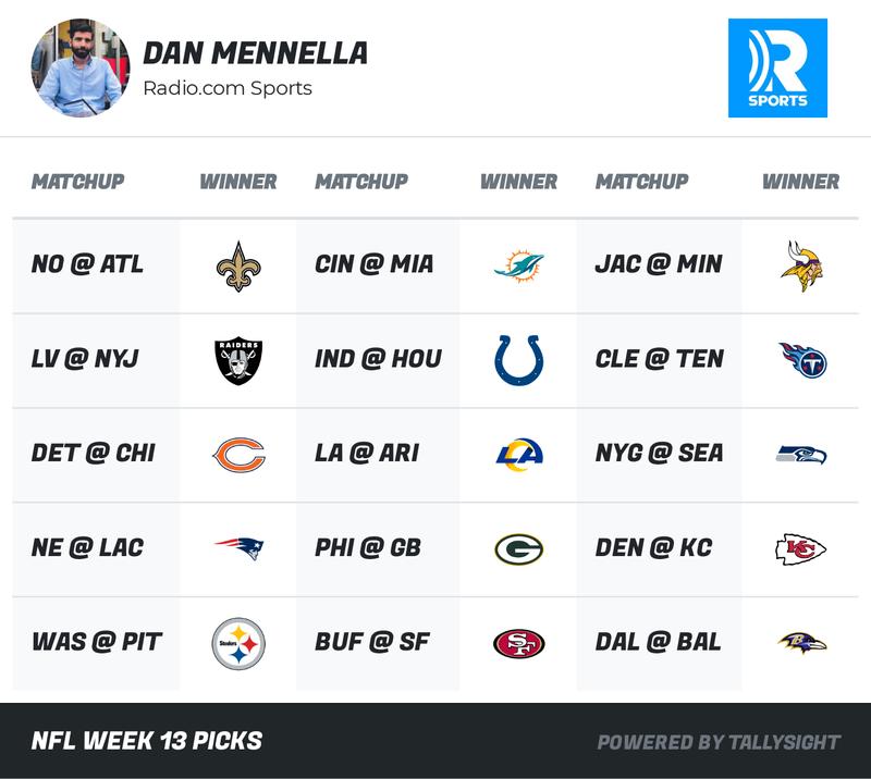 NFL Week 13