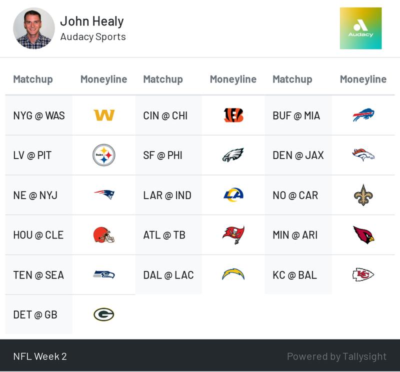 NFL Week 2