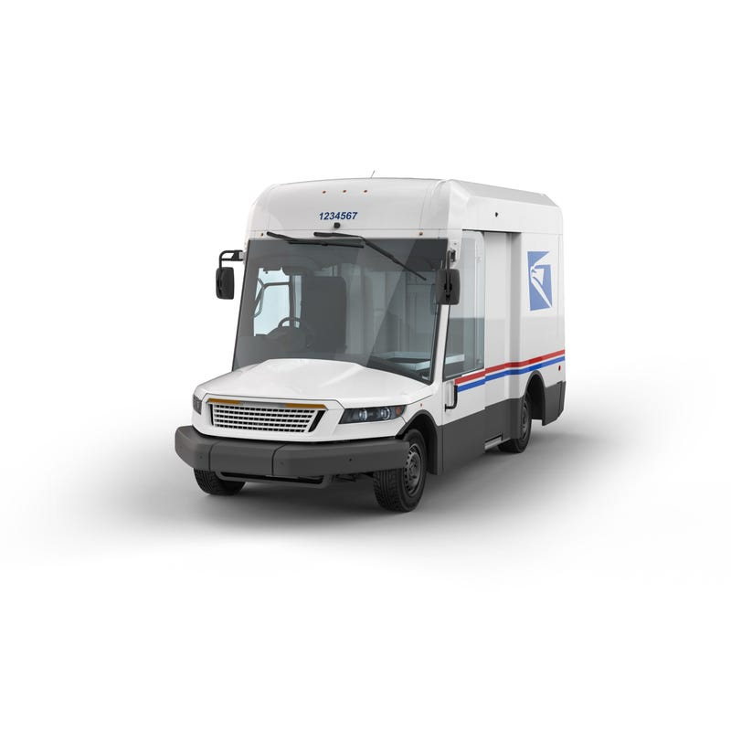 The USPS said Tuesday the new generation of delivery vehicles are estimated to appear on carrier routes beginning in 2023.