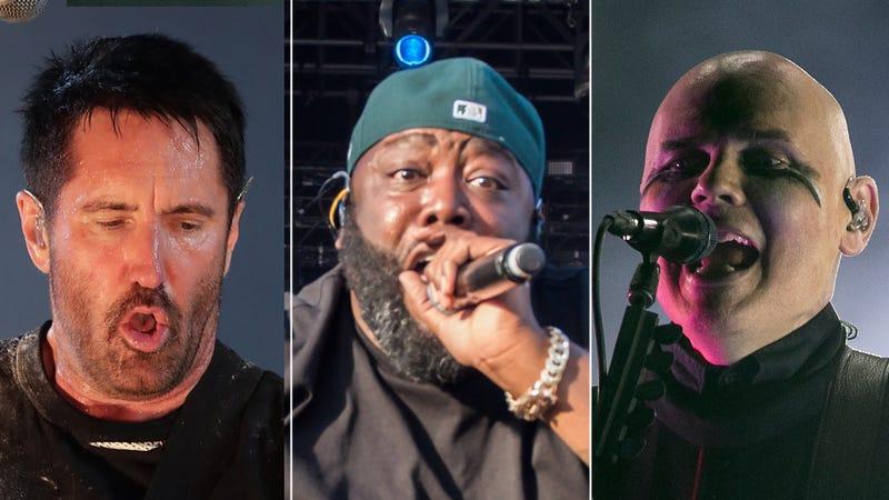 Trent Reznor, Killer Mike, Billy Corgan