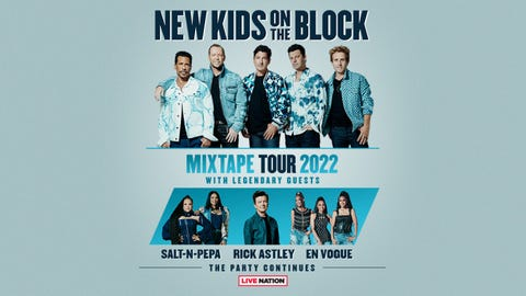 New Kids On The Block - Mixtape Tour 2022