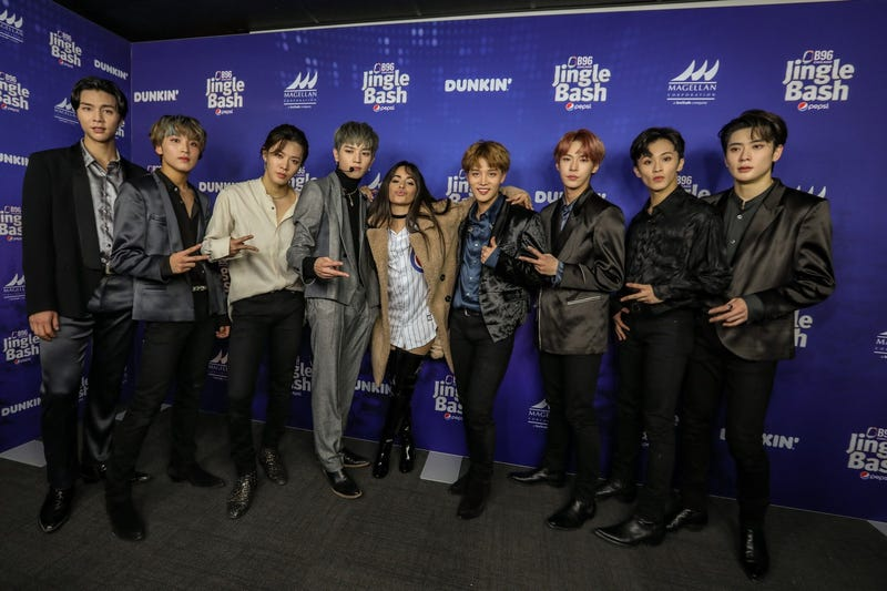 Camila Cabello with NCT 127