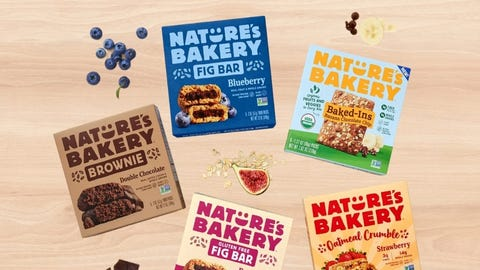 Nature's Bakery Baked-Ins Produce Stand