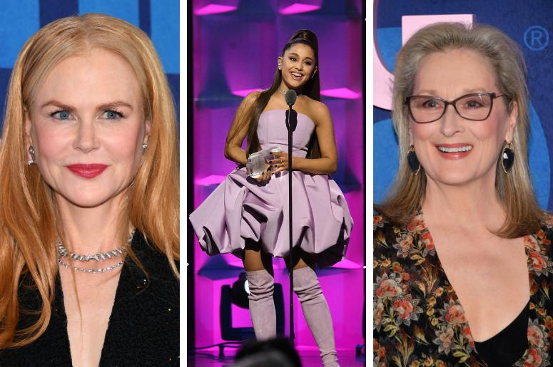 Nicole Kidman, Ariana Grande, Meryl Streep