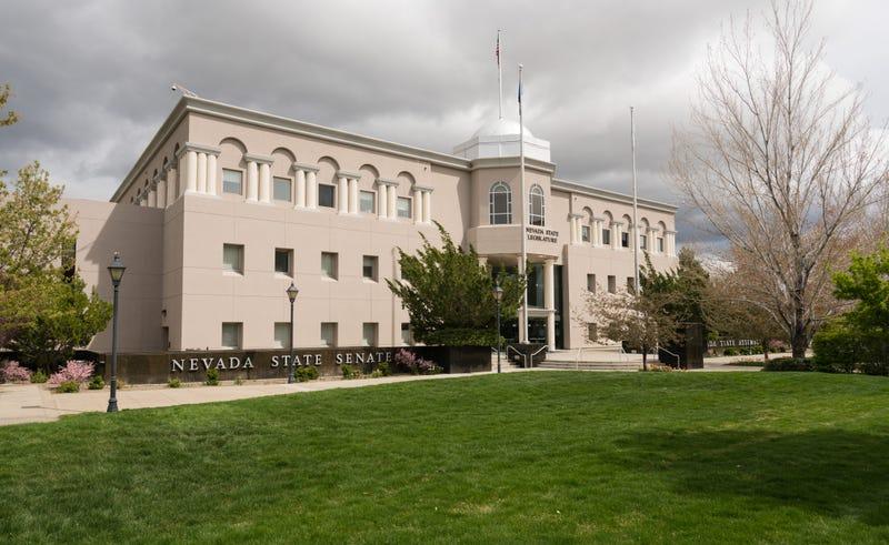 The Nevada State Senate building in Carson City