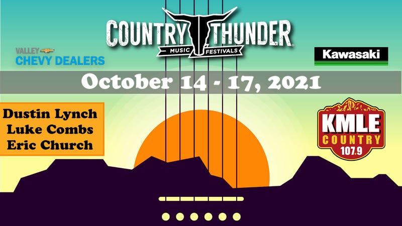 Country Thunder new date artwork