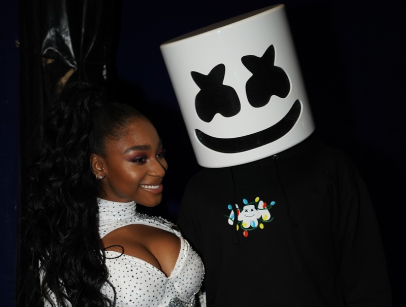 Normani and Marshmello