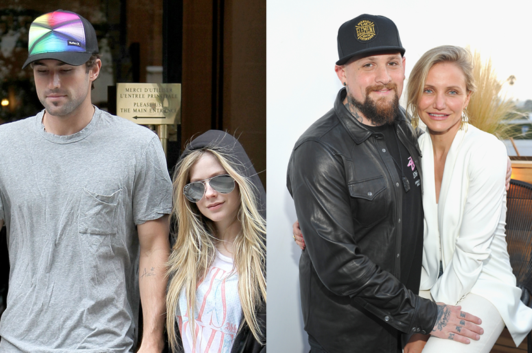 Brody Jenner & Avril Lavigne and Benji Madden and Cameron Diaz