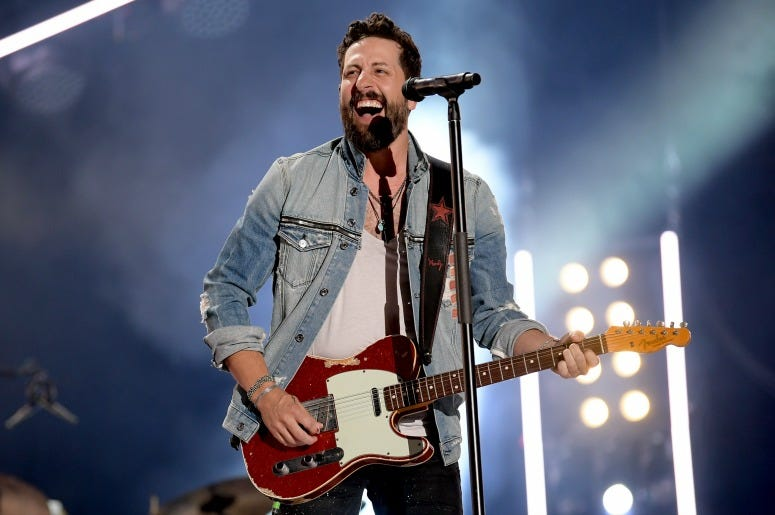 Matthew Ramsey of Old Dominion performs on stage