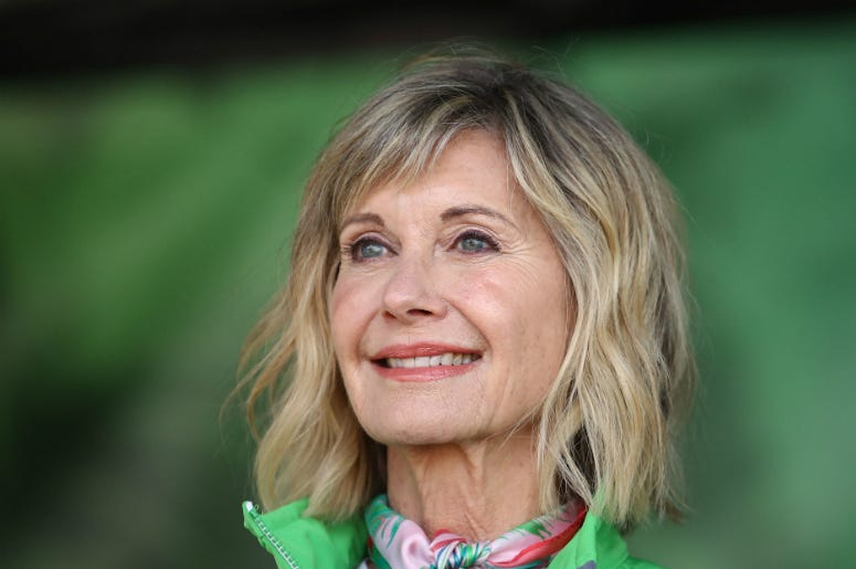 Olivia Newton-John during the annual Wellness Walk and Research Run