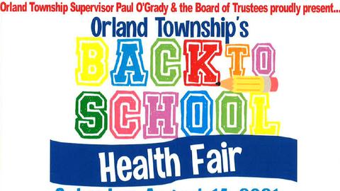 Orland Township's Back-to-School Health Fair