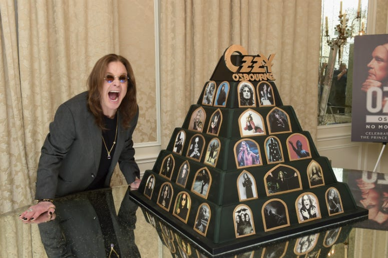 Ozzy Tour Dates 2020.Ozzy Osbourne Injured From Fall Tour Dates Postponed Until 2020