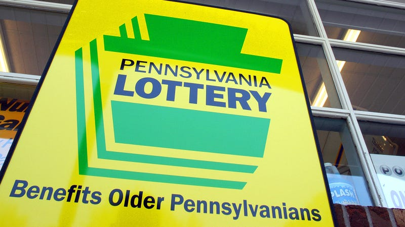 Pennsylvania Lottery Sign