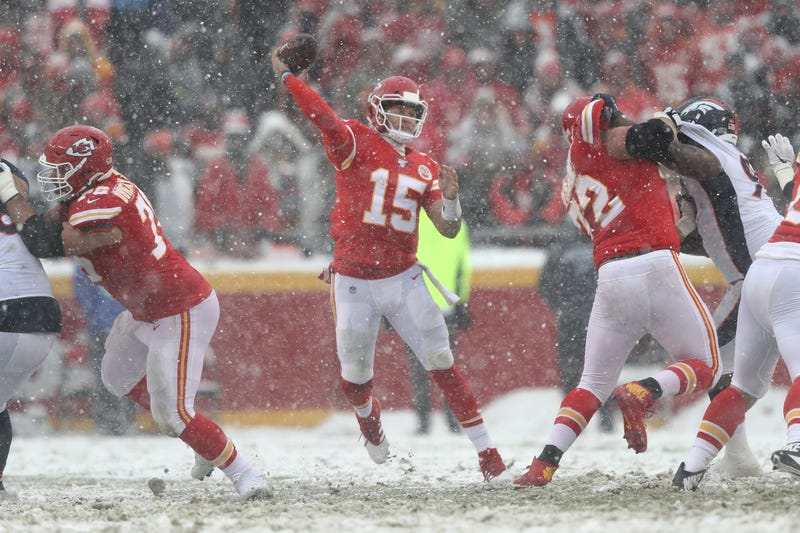 The Chiefs won in the snow in Week 15.