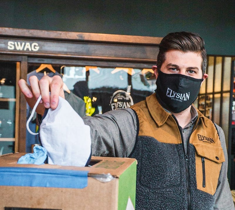 Recycle your PPE for beer!