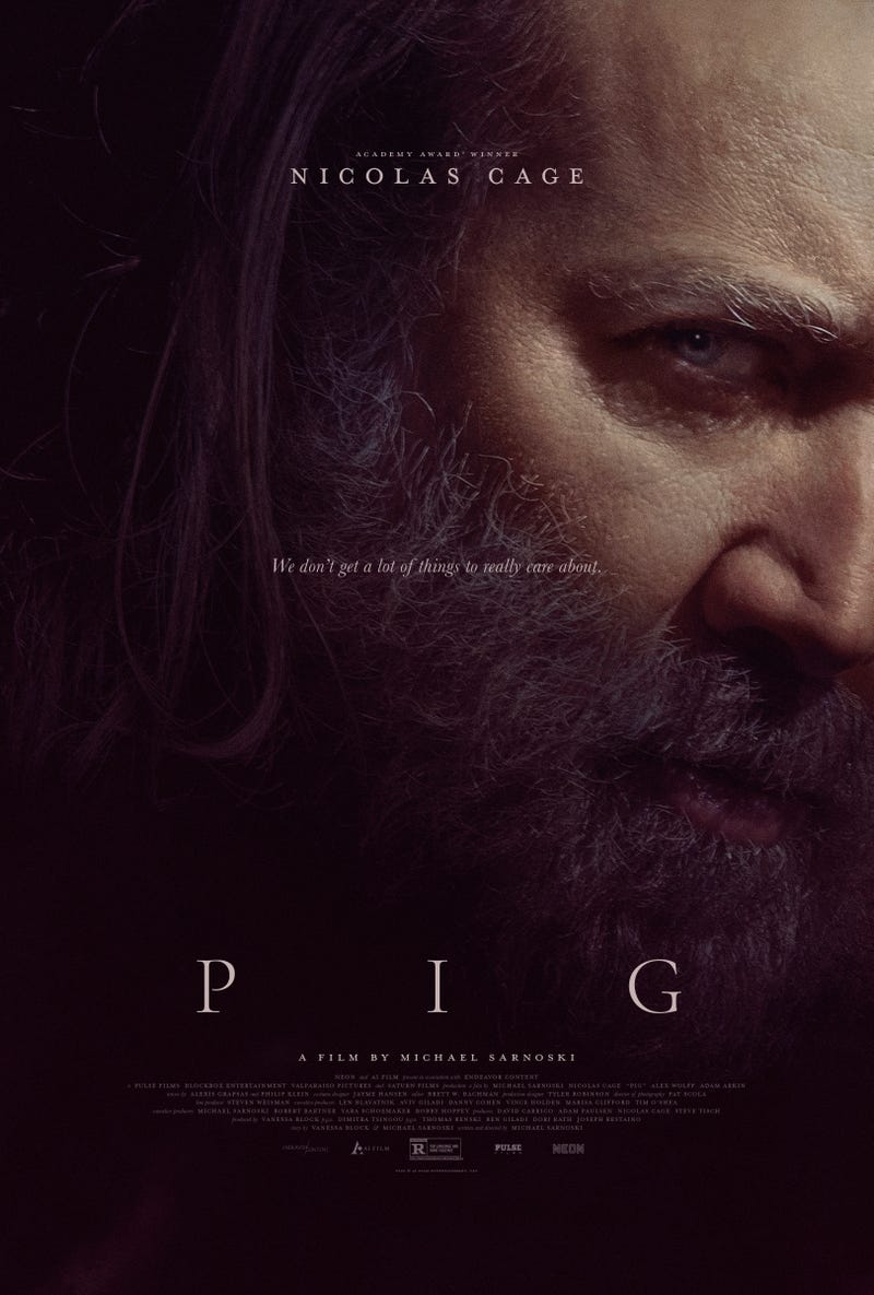 'Pig' poster