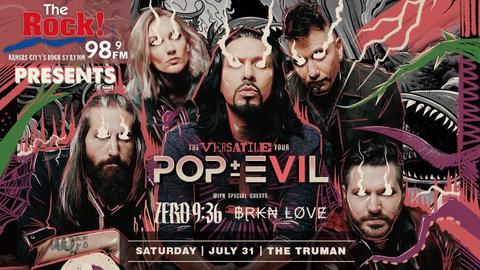 98.9 The Rock Presents: Pop Evil