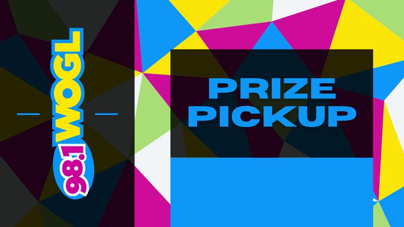 98.1 WOGL Prize Pickup