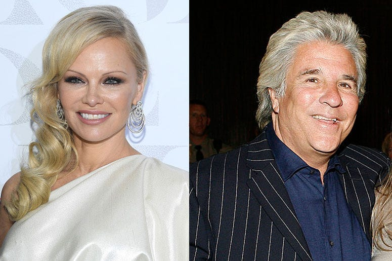 Pamela Anderson and husband