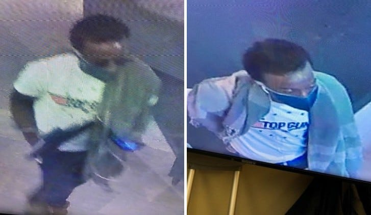 Suspect in a theft from a valet at 1 Park Ave.