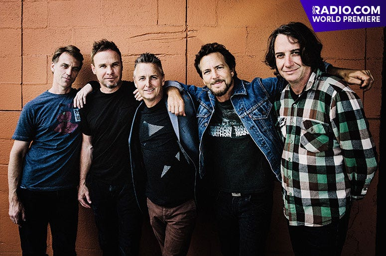 """World Premiere: Pearl Jam - """"Dance of The Clairvoyants"""""""