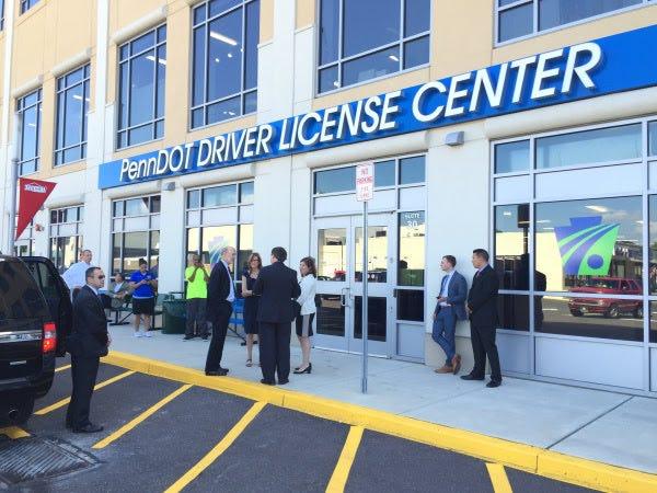 A PennDOT driver license center.